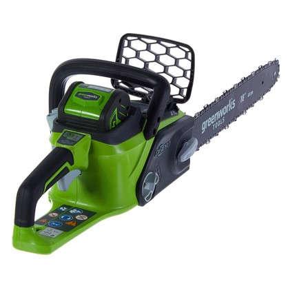 Пила цепная аккумуляторная GreenWorks 40 В шина 40 см цена