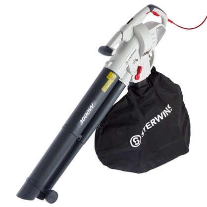 Пылесос-воздуходувка садовый электрический Sterwins 3000 Вт цена