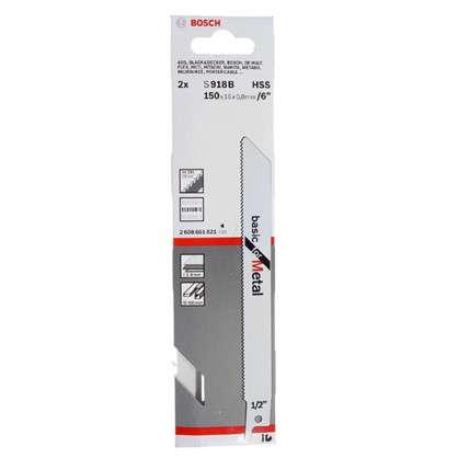 Пилки для сабельной пилы Bosch S918B 2 шт.