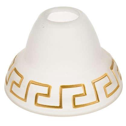 Плафон Этруска E27 цвет прозрачный матовый/бронза
