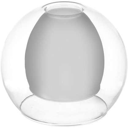 Плафон Полушар двойной 16 см цвет прозрачный цена