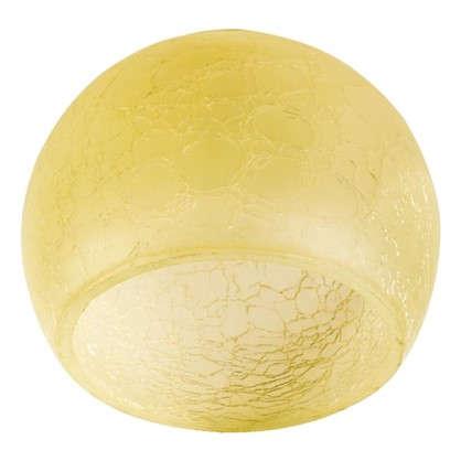 Плафон Сфера E27 цвет прозрачный/желтый цена