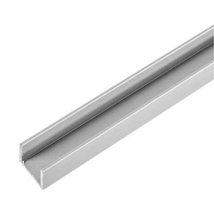Планка для стеновой панели П-образная 60х1х0.6 см алюминий цена
