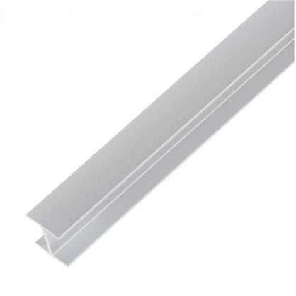 Планка для стеновой панели соединительная Н-образная 60х1х0.6 см алюминий цена