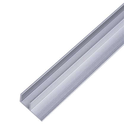 Планка для стеновой панели угловая 60х1.7х0.4 см алюминий цена