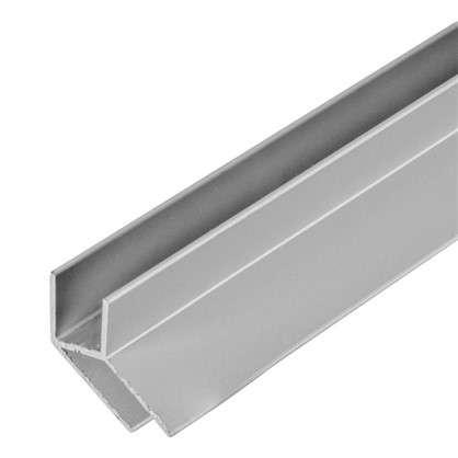 Планка для стеновой панели угловая 60х1.8х0.6 см алюминий цена