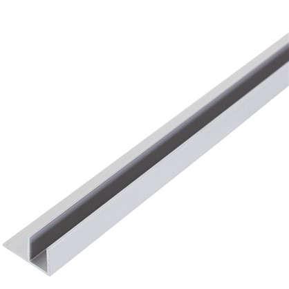 Планка для стеновой панели угловая 60х5х0.4 см алюминий