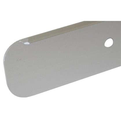 Планка для столешницы торцевая 2.8 см цвет алюминий цена