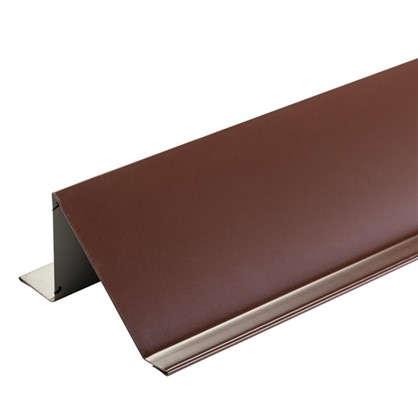 Планка снегозадержания с полиэстеровым покрытием 2 м цвет коричневый цена