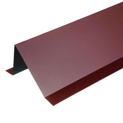 Планка снегозадержания с полиэстеровым покрытием 2 м цвет красный