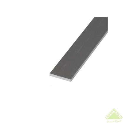 Пластина крепежная 1000x40х2 мм алюминий цена
