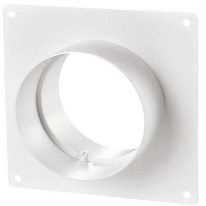 Пластина настенная с соединителем D150 мм
