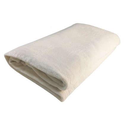 Плед фланелевый 180х200 см цвет белый цена