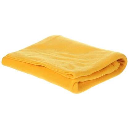 Плед флисовый PICNIC 120х150 см цвет желтый цена
