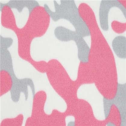 Плед Патриот 120х150 см флис цвет розовый