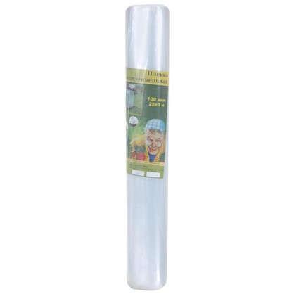Пленка полиэтиленовая в рулоне 100 мкм 15 м2 25 м цена