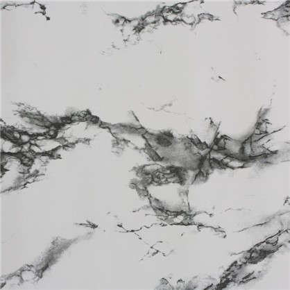 Пленка самоклеящаяся 3958 0.9х8 м мрамор цвет черно-белый