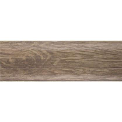 Плинтус напольный Дуб Древний ПВХ 55 мм 2.5 м цвет