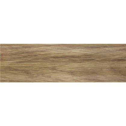 Плинтус напольный Осина Европейская ПВХ 55 мм 2.5 м цвет