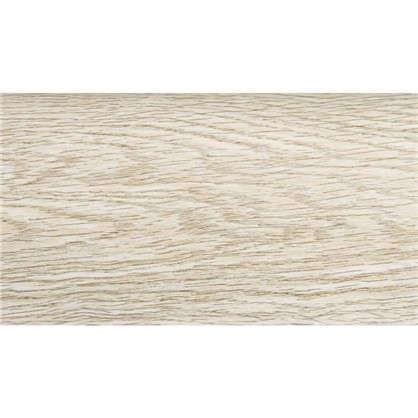 Плинтус напольный ПВХ 85 мм 2.5 м цвет дуб белый