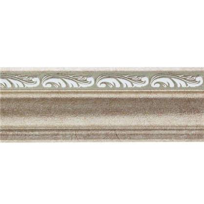 Потолочный плинтус 148B-59 интерьерный 200х4.5 см цвет серебристый цена