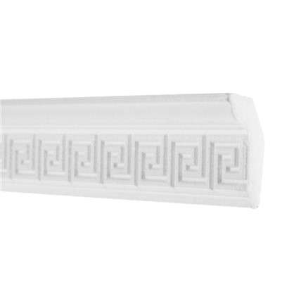 Потолочный плинтус 20006059 200х6 см цвет белый цена