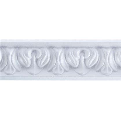 Потолочный плинтус C121/45 200х3 см цвет белый цена