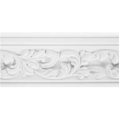 Потолочный плинтус Decomaster  95775 полиуретан 70х70х2000 мм цвет белый цена