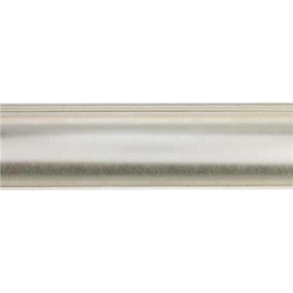 Потолочный плинтус Decomaster  D109-373 43х43х2000 мм цвет серебристый цена