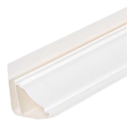 Плинтус ПВХ потолочный для панелей 5 мм 3000 мм цвет белый цена