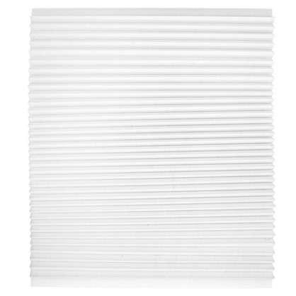 Плиссе 80х160 см бумага цвет белый цена