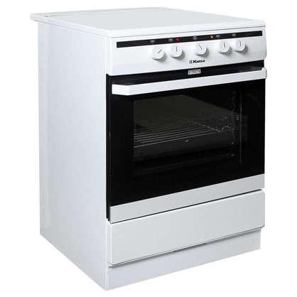Плита электрическая Hansa FCGW63020G 60 см стеклокерамика цвет белый
