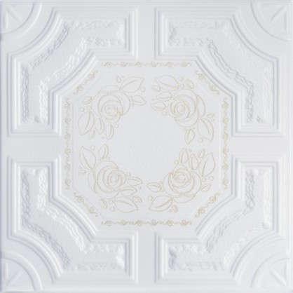 Потолочная плитка Империал 2 м цвет золотой