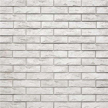 Плитка декоративная гипсовая Лофт Брик цвет белый 1.04 м2 цена