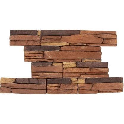 Плитка декоративная Кросс Фелл цвет коричневый 0.6 м2 цена