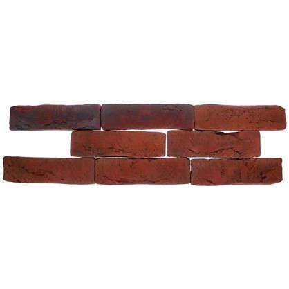 Плитка декоративная Лондон Брик цвет коричневый цена