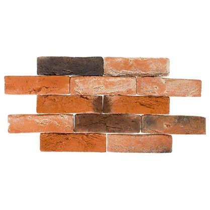 Плитка декоративная Лондон Брик цвет тёмно-оранжевый цена
