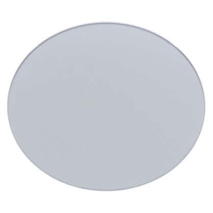 Плитка декоративная зеркальная Круг цвет графит цена