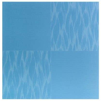 Напольная плитка Эквилибрио 40х40 см 1.76 м2 цвет голубой