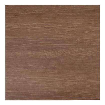 Напольная плитка Плессо 41.8х41.8 см 1.747 м2 цвет коричневый