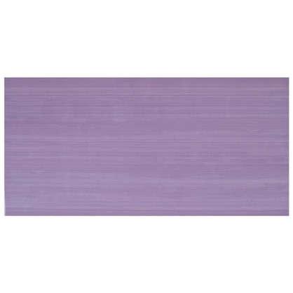 Плитка настенная Этюд 20х40 см 1.28 м2 цвет лиловый