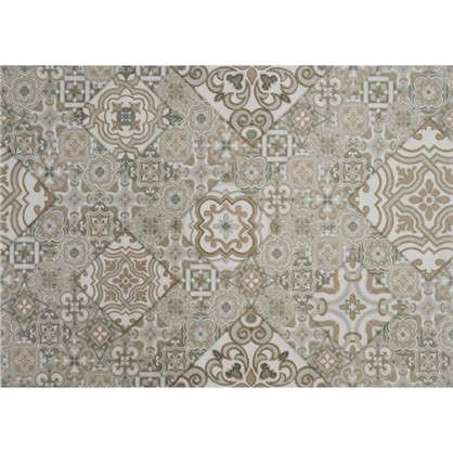 Плитка настенная Патч 35x25 см 1.4 м2 цвет серый цена
