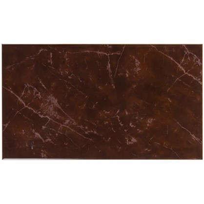 Плитка настенная Pietra 23x40 см 1.38 м2 цвет тёмно-коричневый цена