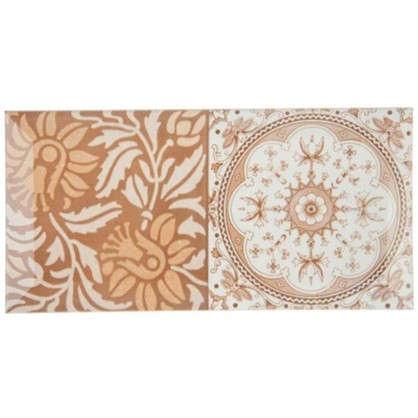 Плитка настенная Toscana Mix 10x20 см 1 м2 цвет мультиколор