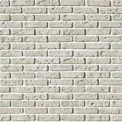 Плитка облицовочная Эллин Брик цвет белый 1.1 м2 цена