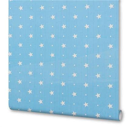 Пленка самоклеящаяся Голубые звездочки 045х2 м цена