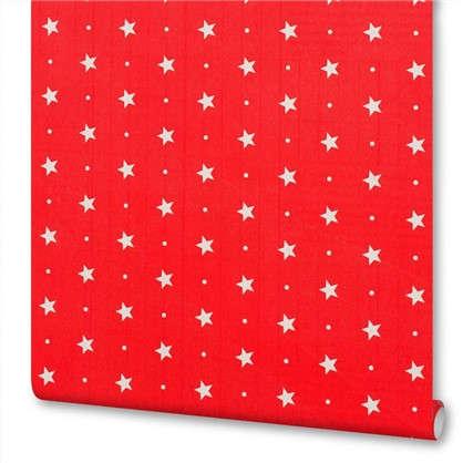 Пленка самоклеящаяся Красные звездочки 045х2 м цена