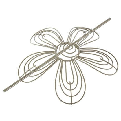 Подхват для штор 160 мм металл цвет серо-бежевый цена