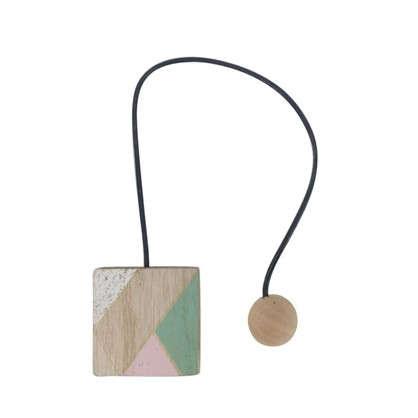Подхват магнитный Азура 6х44 см цвет розовый/белый/натуральный/зеленый цена