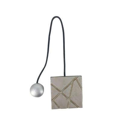 Подхват магнитный Грейс 5.8х34 см цвет серебряный цена
